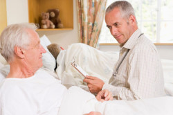 Длительный постельный режим - причина легочной эмболии